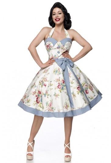 Cute swing neckholer vintage dress Belsira