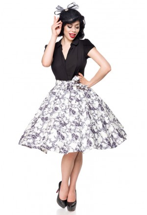 Wide A line vintage swing skirt Belsira