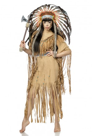 Luxusný kostým od Mask Paradise Rodená Indiánka
