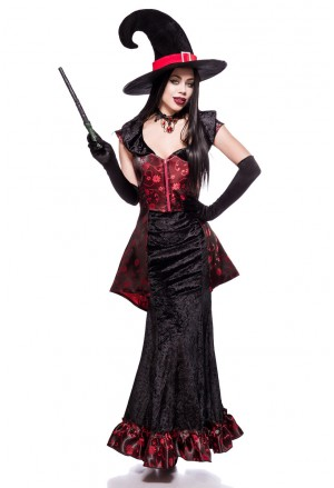 Luxusný kostým od Mask Paradise Zvodná čarodejnica