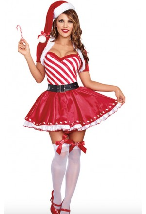 Christmas costume Santa Candy Cane