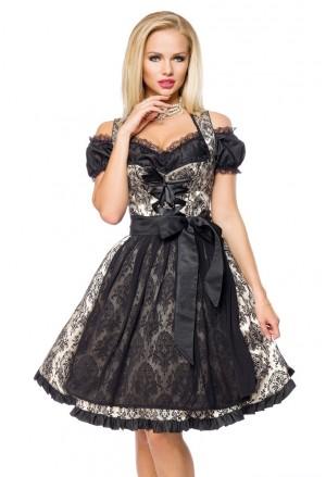 Brocade bavarian dirndl folk dress DIRNDLINE