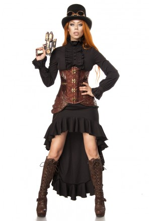 Steampunk women costume from Mask Paradise