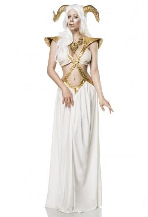 Kompletný kvalitná kostým Golden Fairy