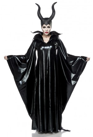 Hot fairy women costume Maleficent Lady