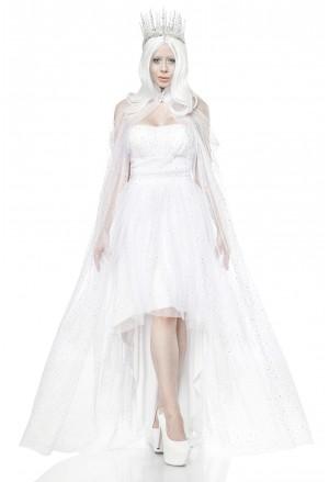 Kvalitný kostým Ľadová kráľovná
