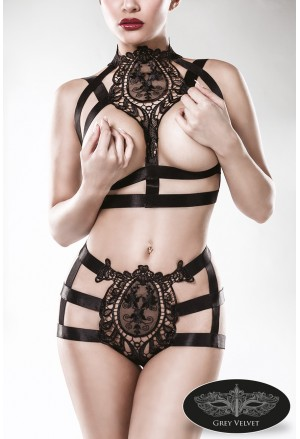 Exclusive budoiar underwear harness style