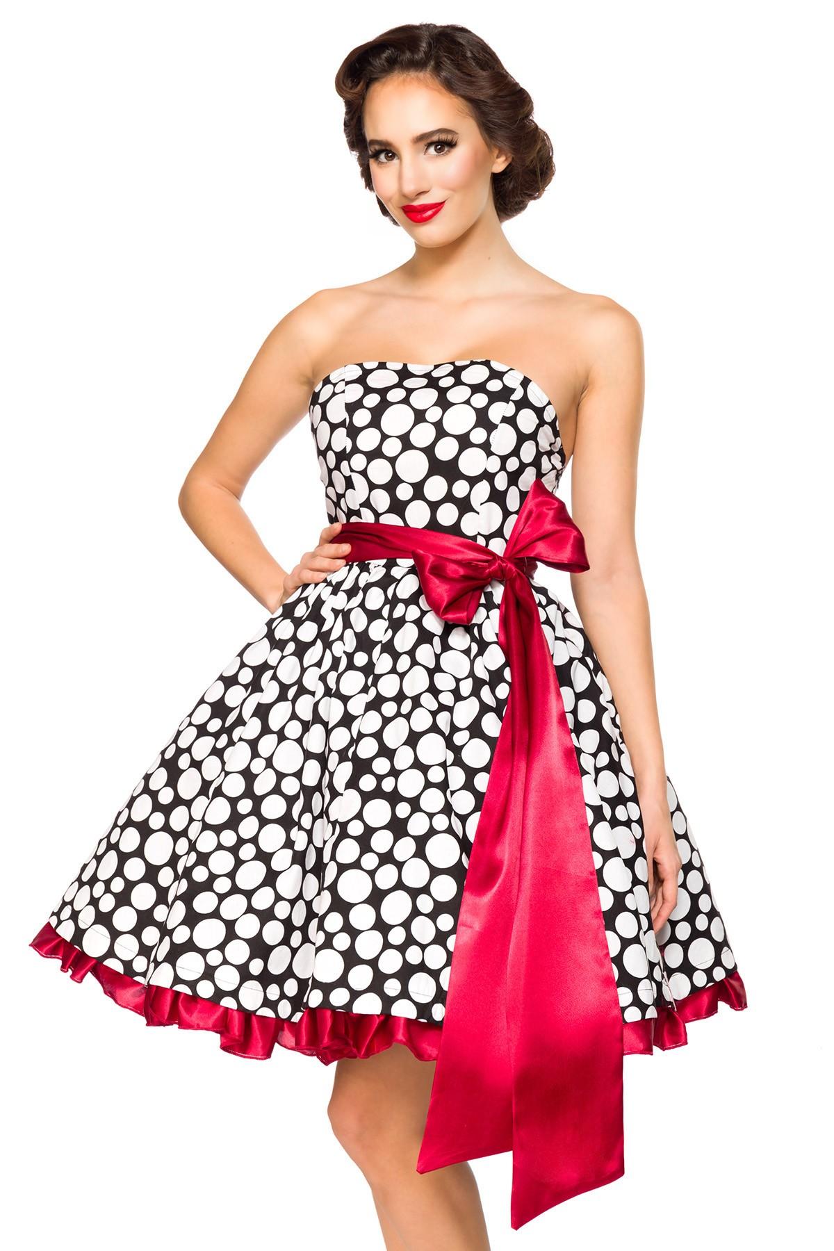 45e07c056c60 Rockabilly šaty Dita Dots - SELECTAFASHION.COM