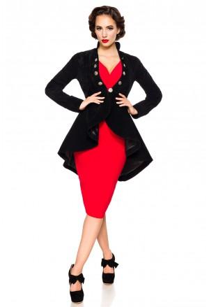 Frock women velvet coat