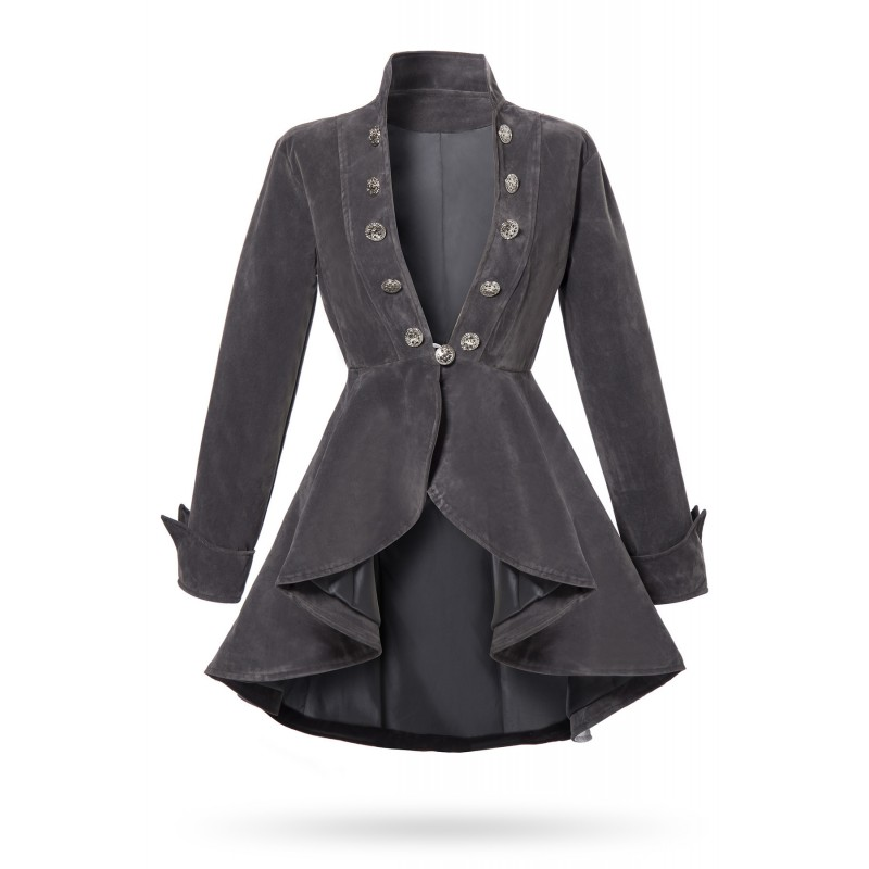 enjoy complimentary shipping how to orders good quality Frock women velvet coat - SELECTAFASHION.COM