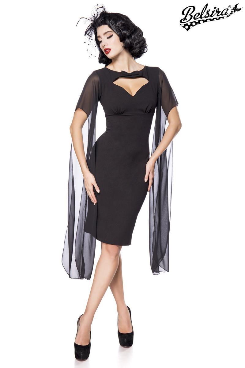 efa8602fc Čierne retro šaty Belsira - SELECTAFASHION.COM