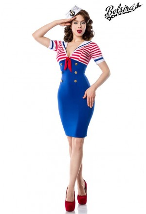 Sweet seaman dress MARINE
