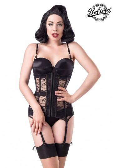 f8cf7d5aac 4 piece glamour corset lingerie set Belsira - SELECTAFASHION.COM