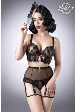 Elegant retro retro bra lingerie set Belsira