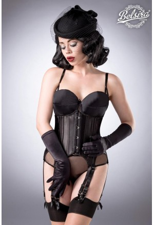 4 piece Straps Corset Set by Belsira