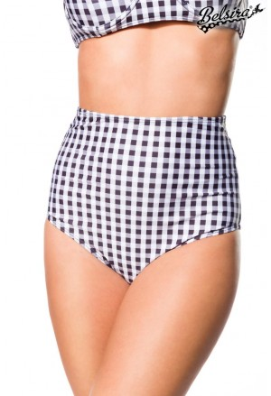 Timeless vintage retro high waist bikini bottom