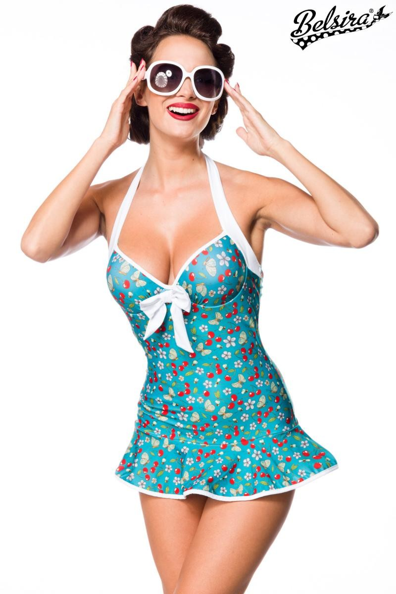 429e9e16965a Retro vintage swim dress by Belsira - SELECTAFASHION.COM