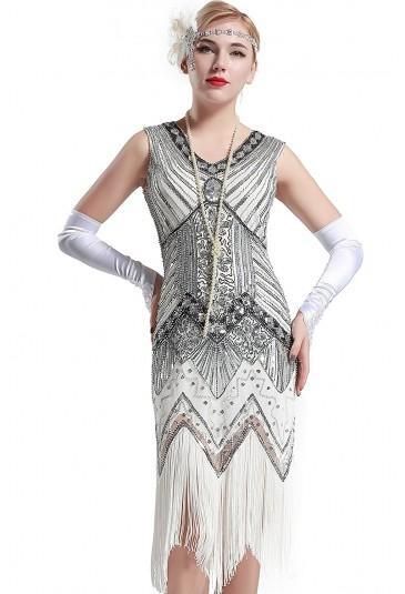 Art deco šaty inšpirované Veľkým Gatsbym - štýl 20.roky