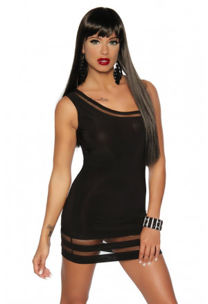 Club minidress Saresia Black Sensation