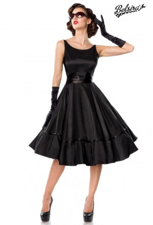 Black retro rockabilly dress POSH STYLE