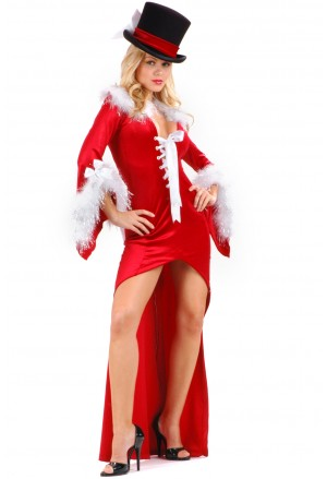 Burlesque Santa Baby  Christmas Costume Dress