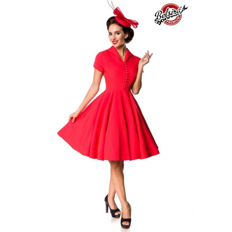 Vkusné retro pepitkové šaty - SELECTAFASHION.COM 12c271583fb