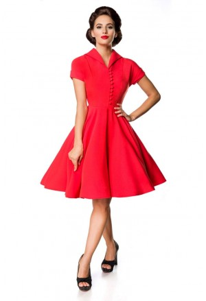 Charmful red vintage dress Belsira
