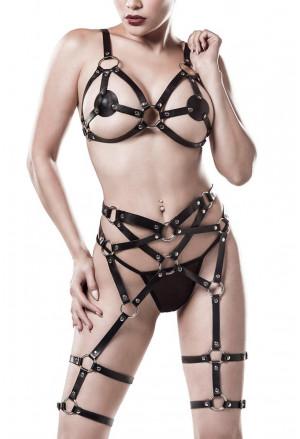3 dielny erotický bondážový set od Grey Velvet