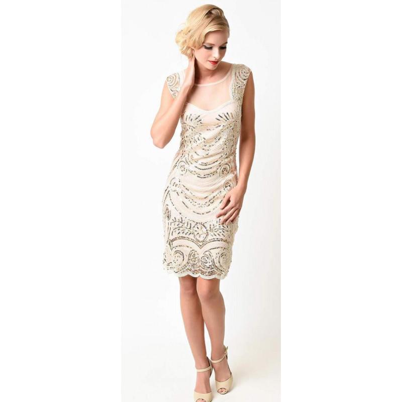 Art deco trblietavé spoločenské šaty v štýle Veľký Gatsby ... b72f865d80c