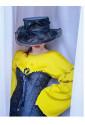 Brocade corset Vamp - black