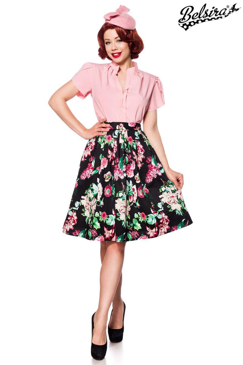 232d24f81 Široká pestrá retro sukňa Belsira - SELECTAFASHION.COM
