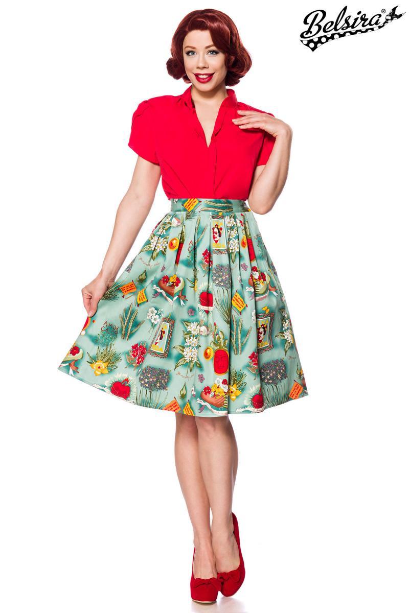 d17909604 Úžasná retro sukňa Frida - SELECTAFASHION.COM