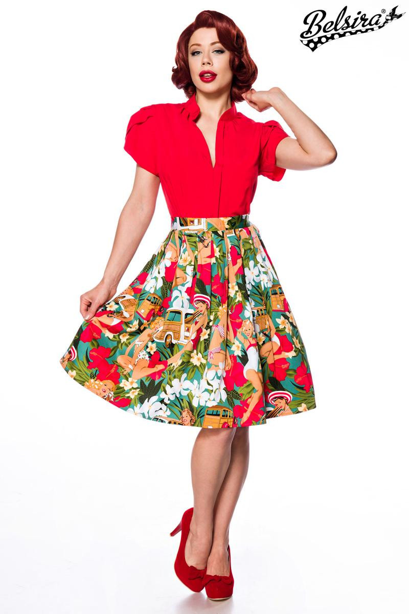 e87378125224 Úžasná retro sukňa Pin-Up - SELECTAFASHION.COM