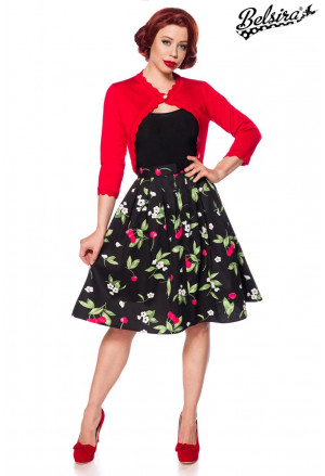 Stunning retro skirt Cherry print
