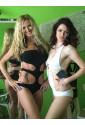 Exclusive white one-piece swimsuit Saresia