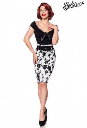 Stunning retro pencil skirt Japan