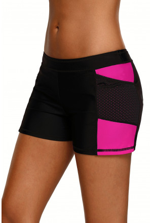Side Mesh Insert Sports Boardshort
