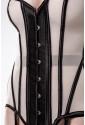 Glamour 4 pieces mesh corset set by Grey Velvet