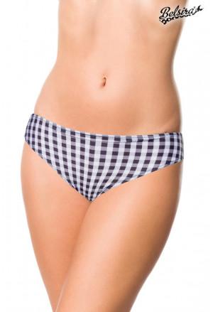 Timeless vintage retro high waist bikini bottom