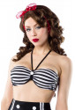 Timeless vintage retro swimwear bra