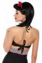 Timeless vintage retro swimwear bra
