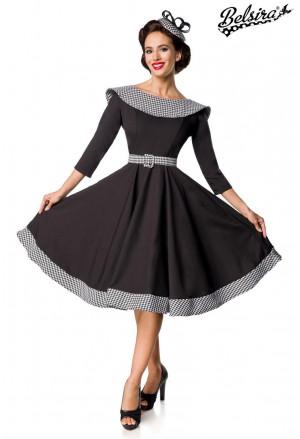 Vintage swing long sleeve dress by Belsira