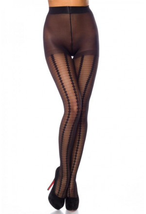 Multi Pattern Tight Pantyhose 12 DEN