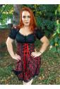 Beatiful high-quality Jacquard folk dress costume