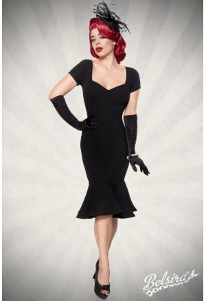Beautiful decent black vintage dress