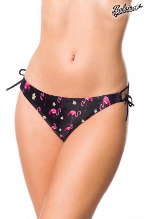 Classy flamingo swim bikini bottom panty
