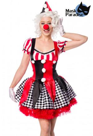 Crazy halloween claun costume