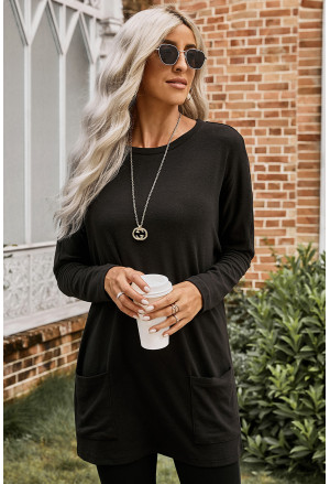 Longline Pocketed Top