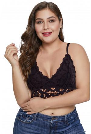 Chunky Lace Plus Size Bralette