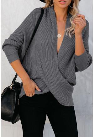 Drape Knit Sweater